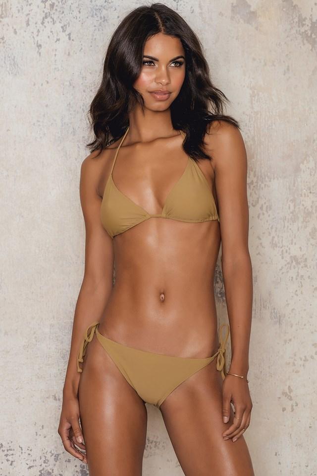 Triangle Bikini Top Army Green