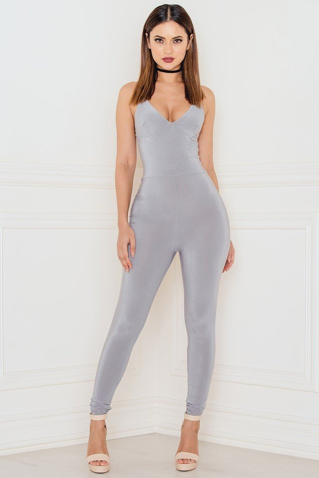 The Catsuit! Grey
