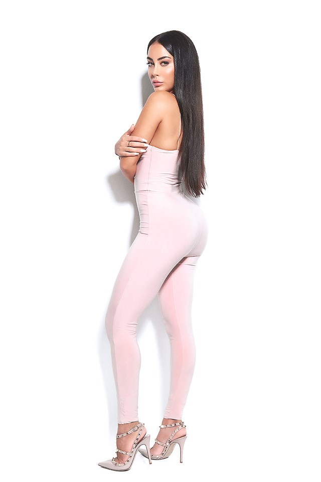 The Catsuit! Nude