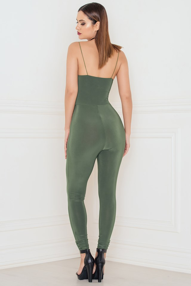 The Catsuit! Khaki