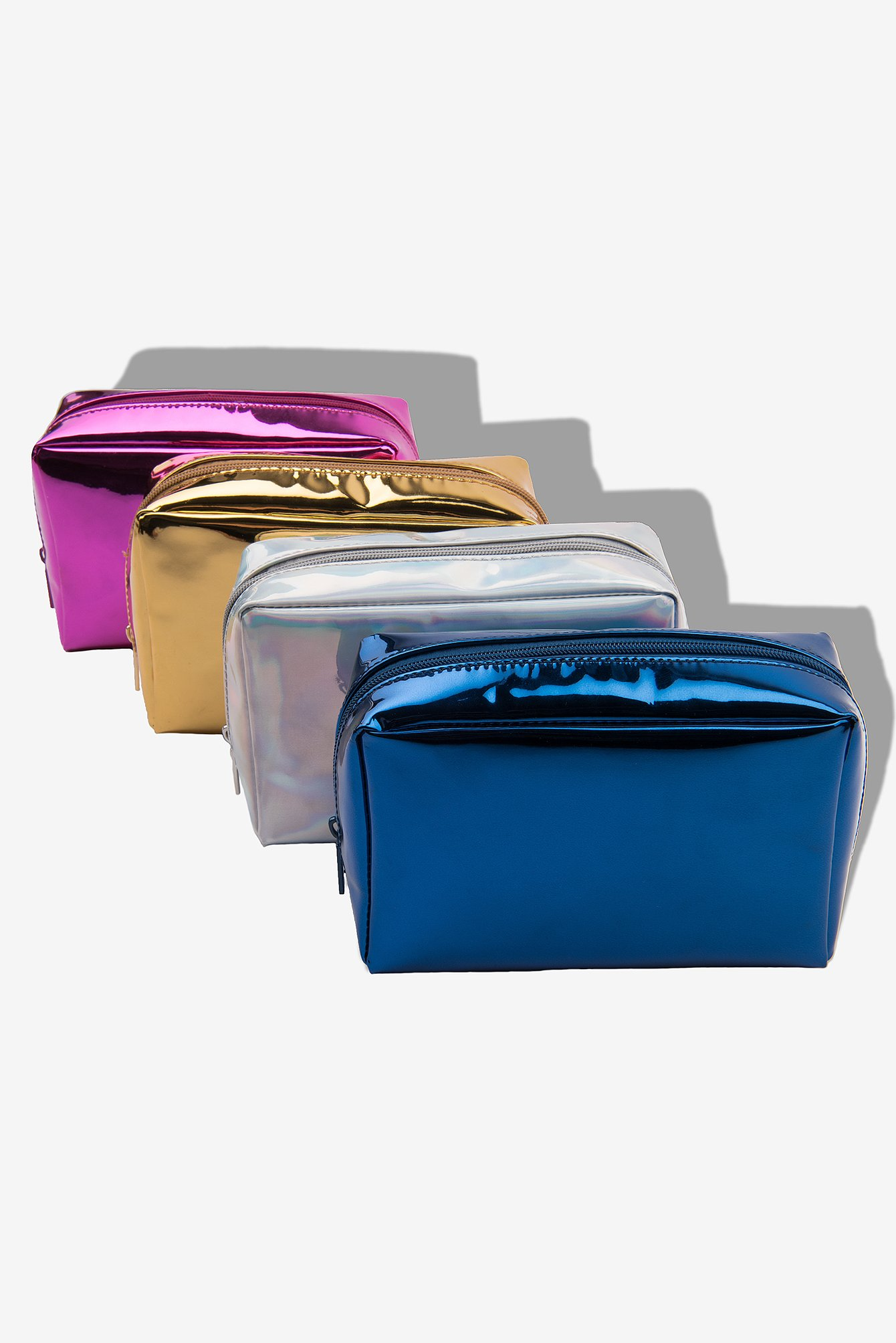 Metallic Makeup Bag NA-KD.COM