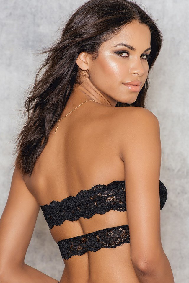 Deep In The Dark Bandeau Black