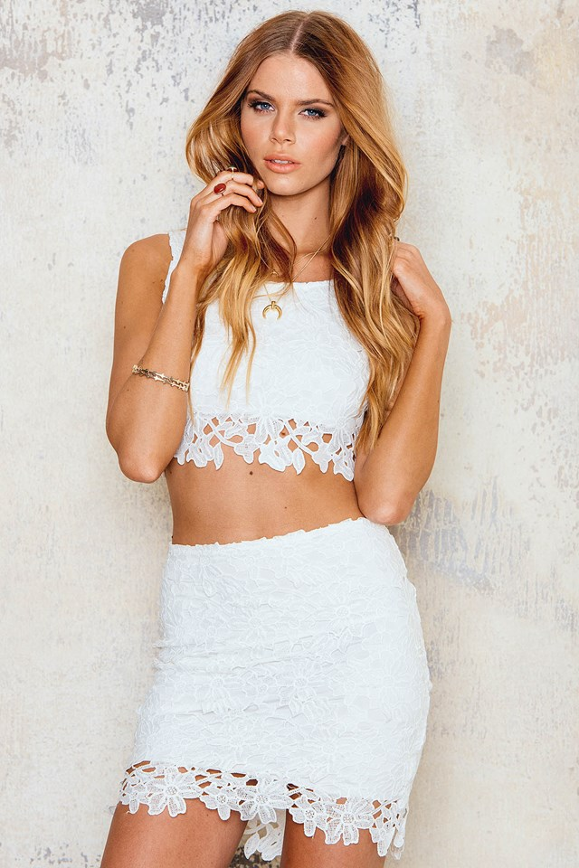 Crochet Set White