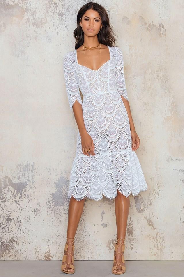 Rosalita Dress White