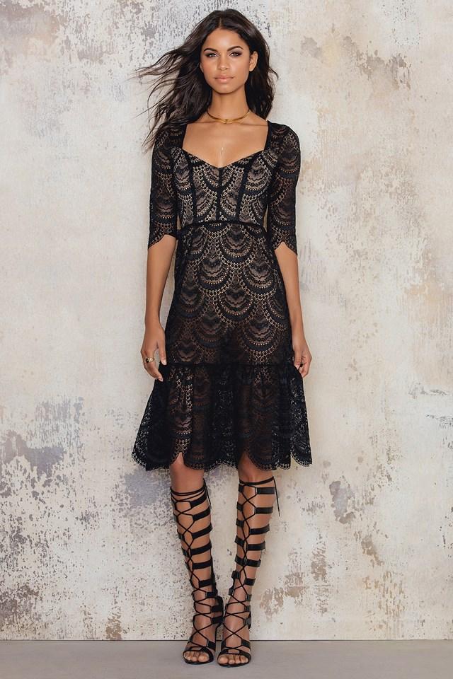 Rosalita Dress Black