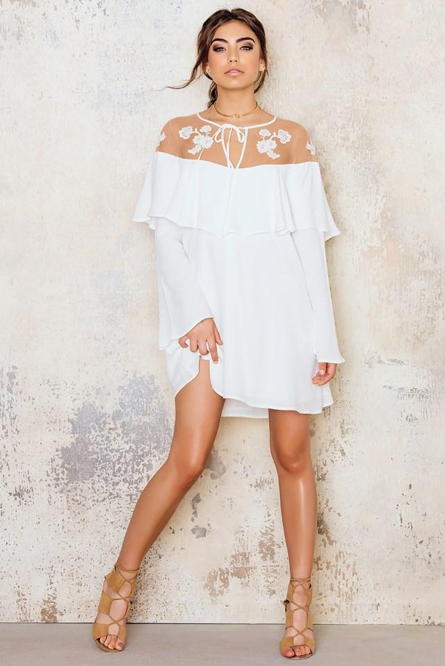 Elenora Mini Dress White