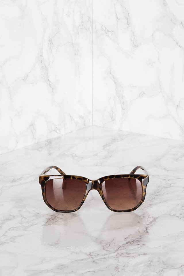 Turtle Sunglasses Leopard