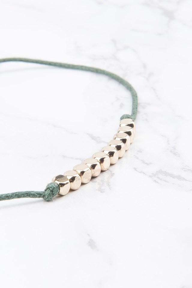 String Bracelet Gold