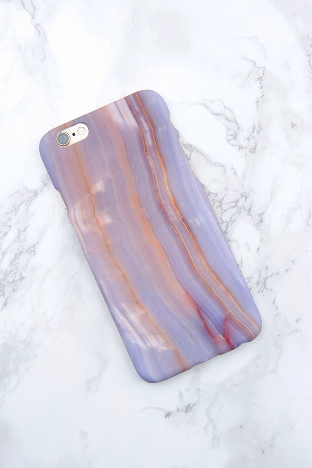 Iphone Case 6/6S Light purple marble