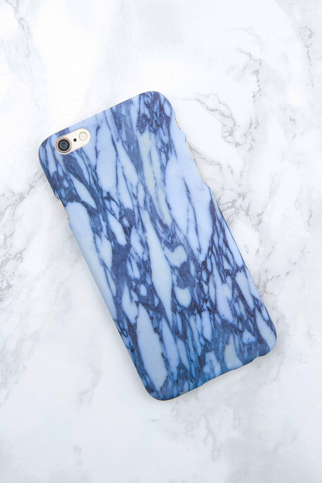 Iphone Case 6/6S Light blue marble