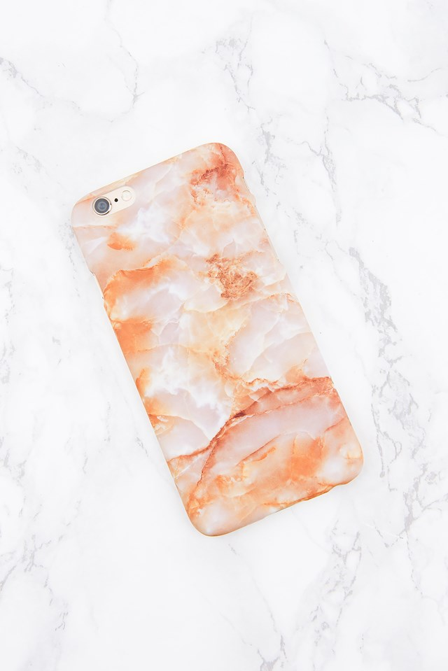 Iphone Case 6/6S Orange Marble