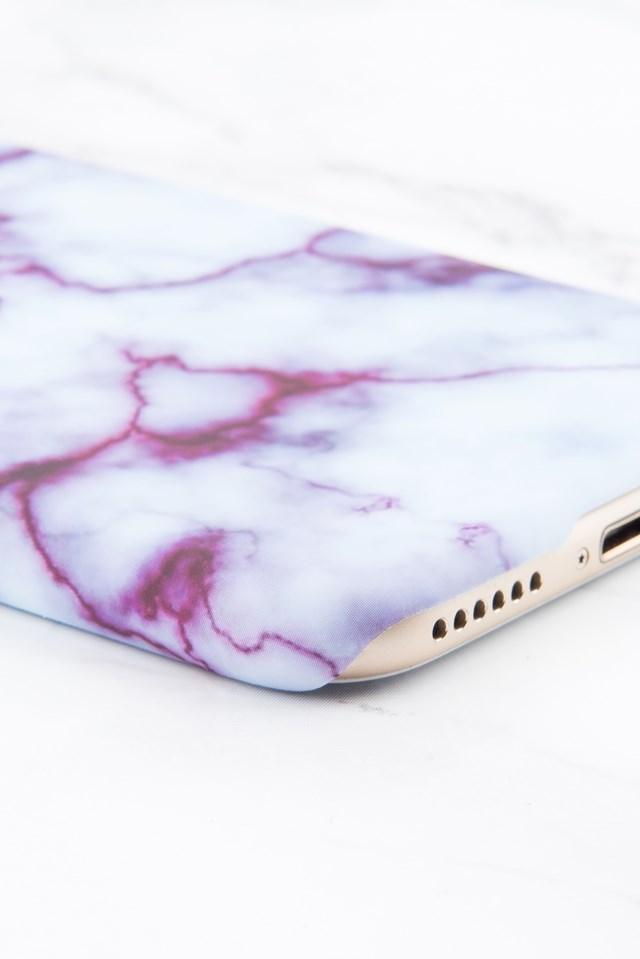 Etui na Iphone 6/6S Purple Marble