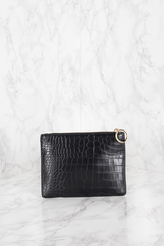 Small Clutch Black