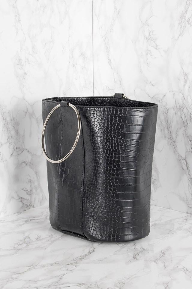 Ring Handle Bucket Bag NA-KD.COM