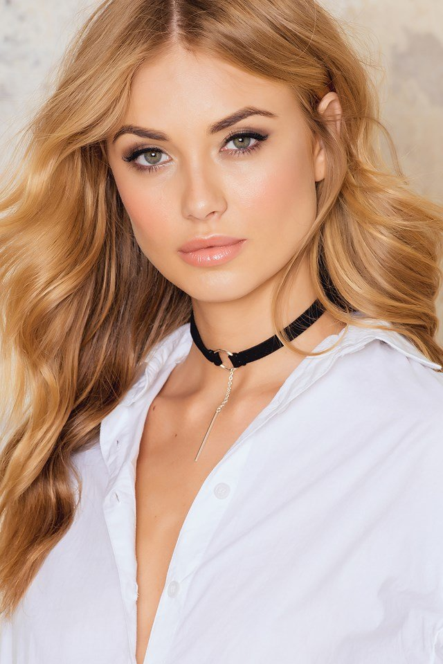 Ring Choker With Pendant Black/Silver
