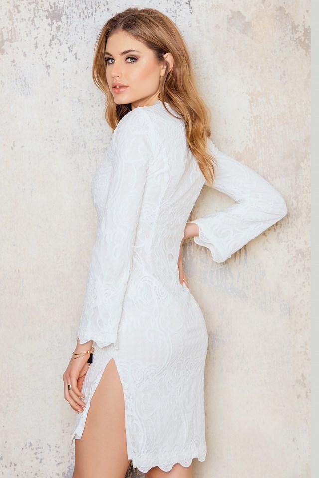 Forni Dress White