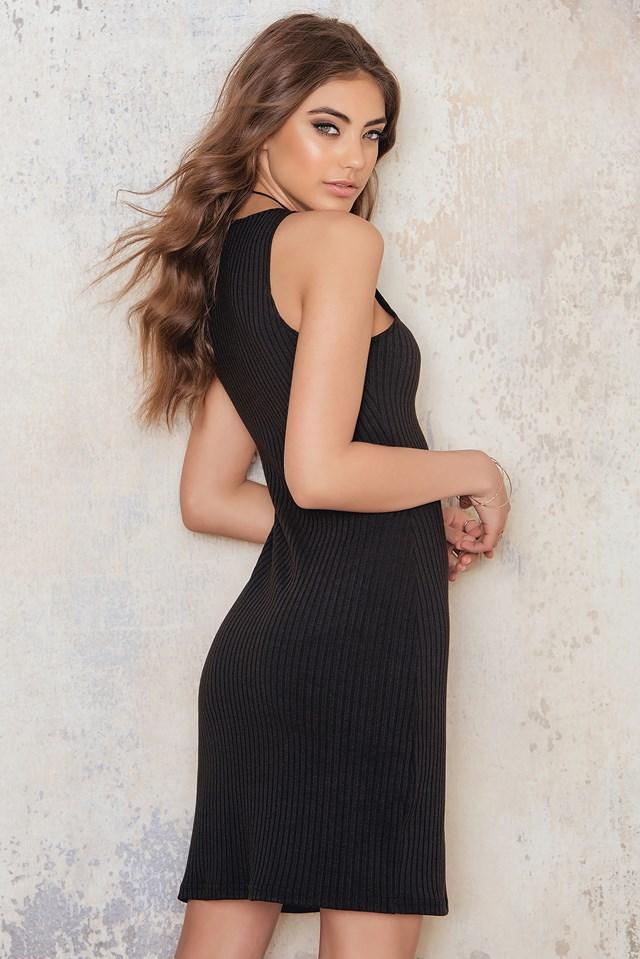 Seynabo Dress Black