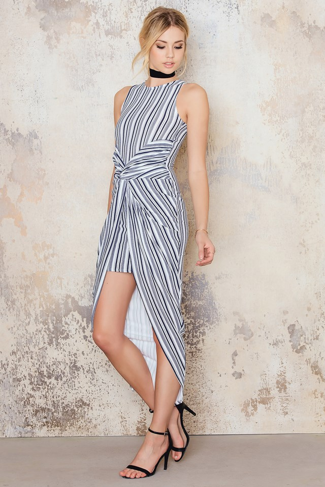 Bodycon Dress Stripe