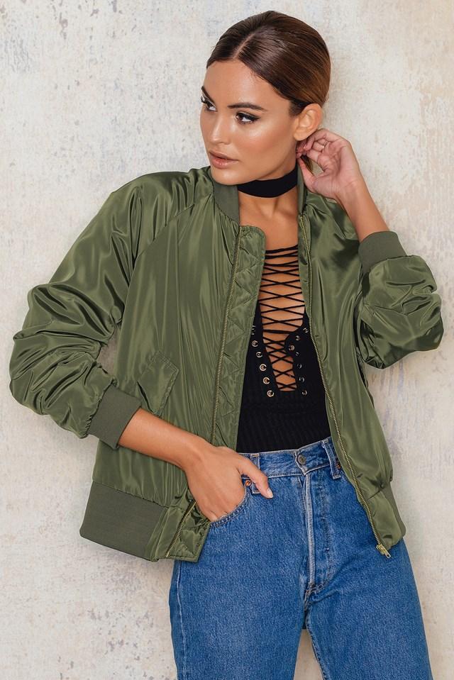 Bomber Jacket Army Green