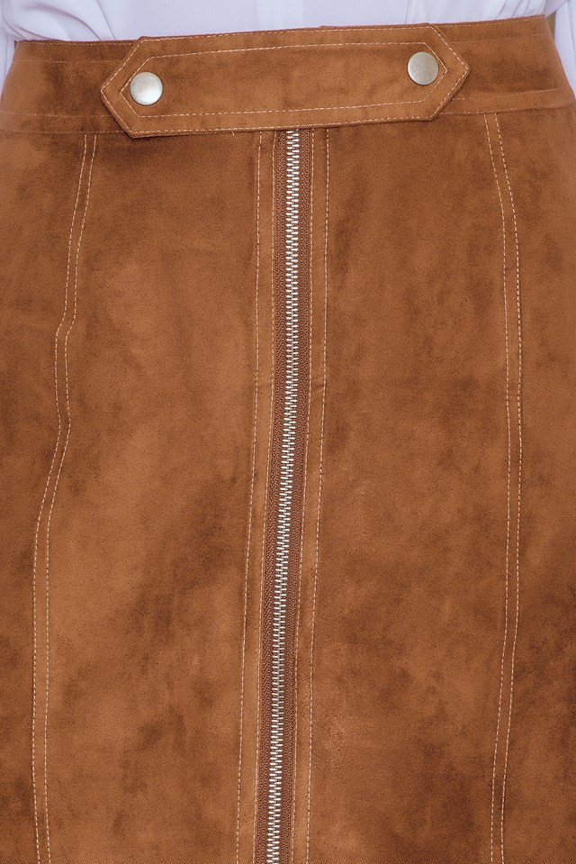 Suede Mini Skirt NA-KD.COM