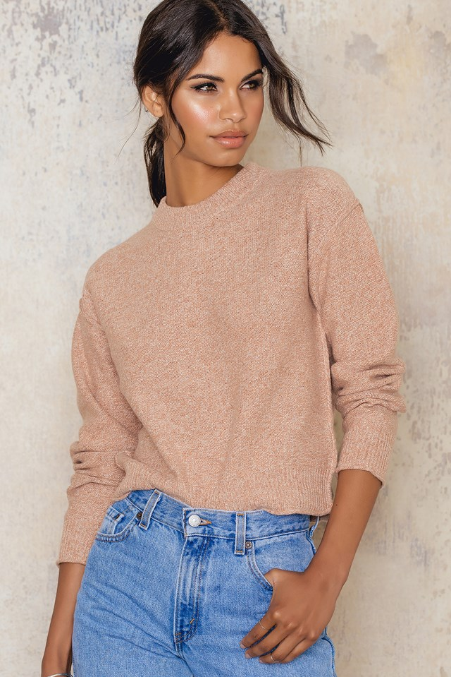 Cropped Pullover Almondine