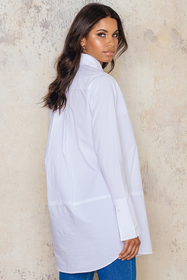 Broadcloth Camise Snow White