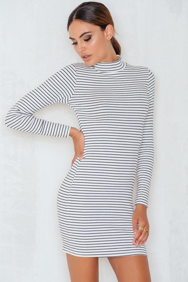 Envi Dress White/Black