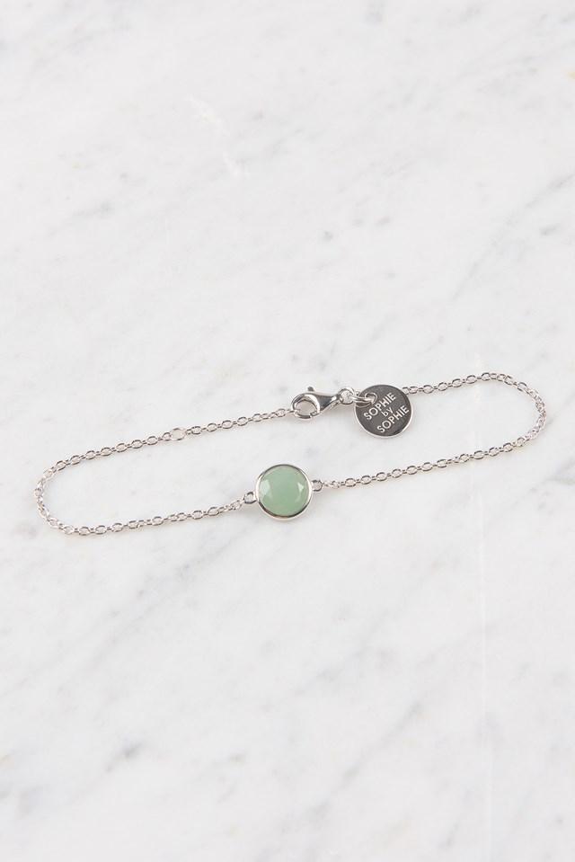Birthstone Bracelet Aug NA-KD.COM
