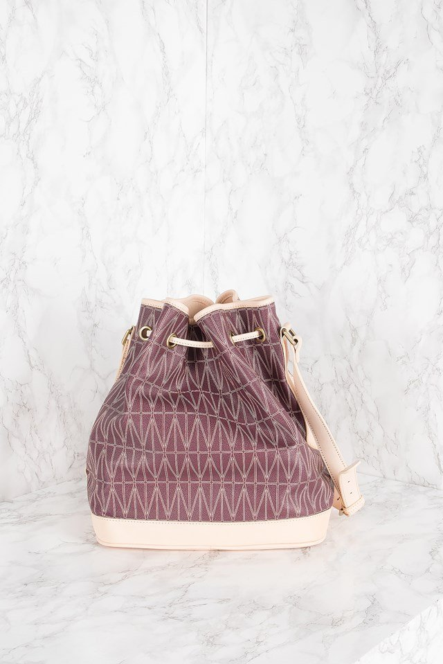 Bucket Bag Burgundy