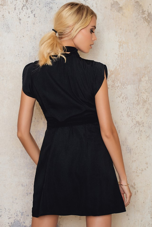 Maida Dress Black