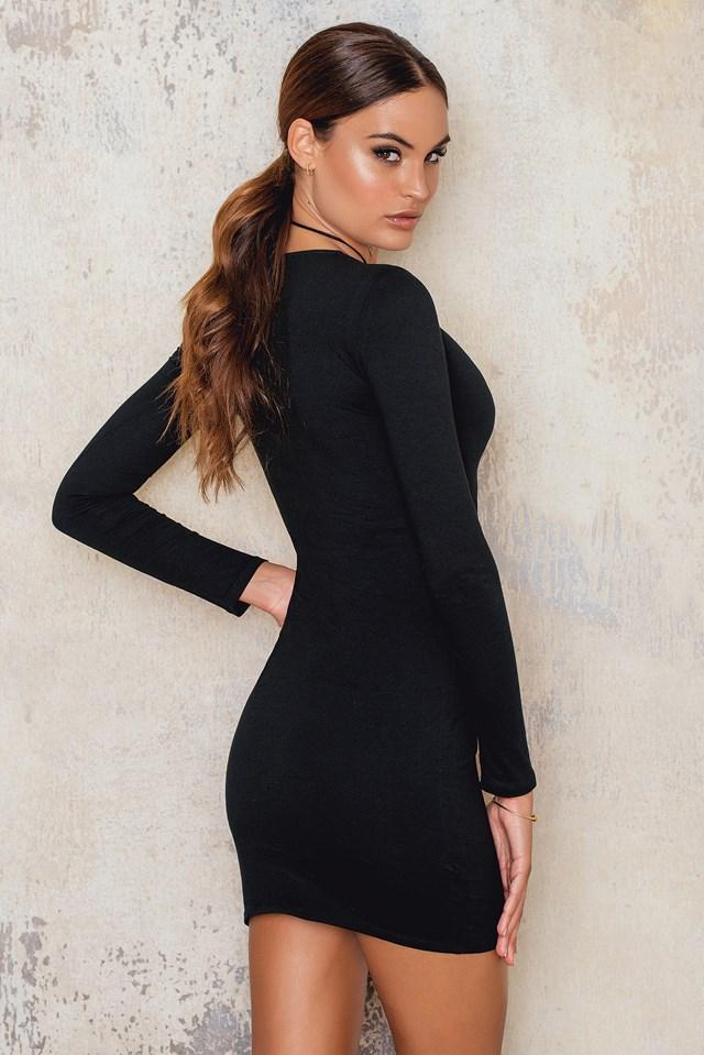 Cordelia Dress Black