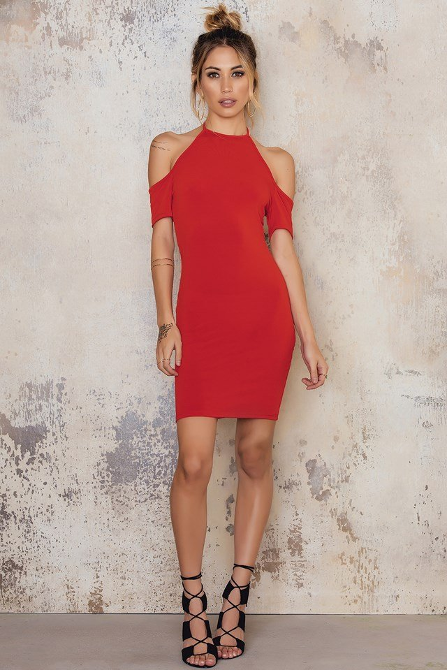 Hollie Dress Red