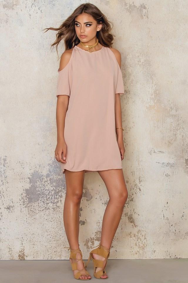 Savannah Dress Blush