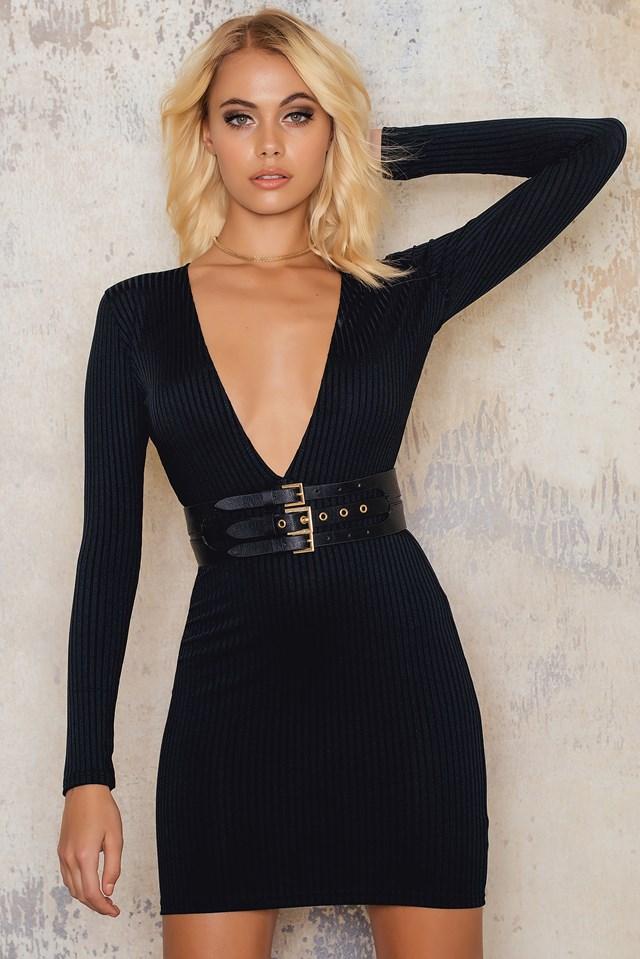Lynette Dress Black