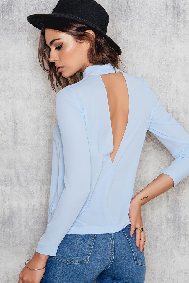 Theta T-N Top Cashmere Blue