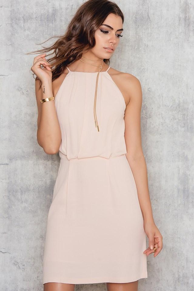 Willow Short Dress Cameo Rose