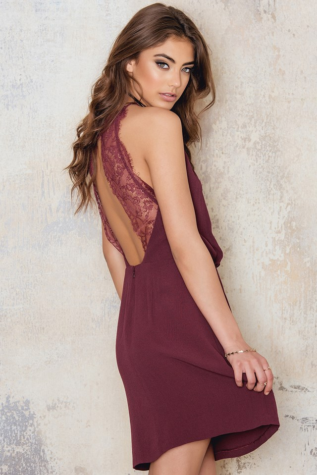 Willow Short Dress Zinfandel