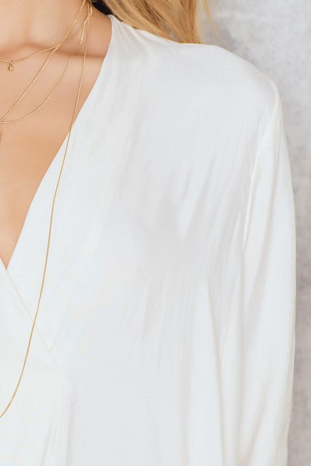 Sukienka Ida LS Clear Cream