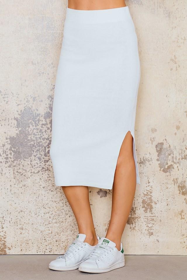 Ronda Skirt White