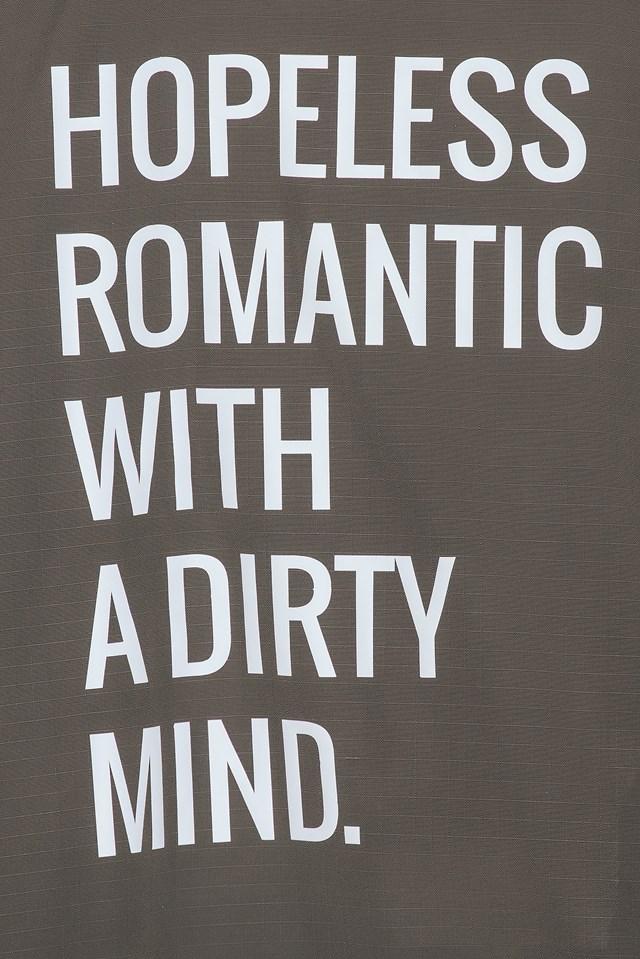 Hopeless Romantic With a Dirty Mind NA-KD.COM