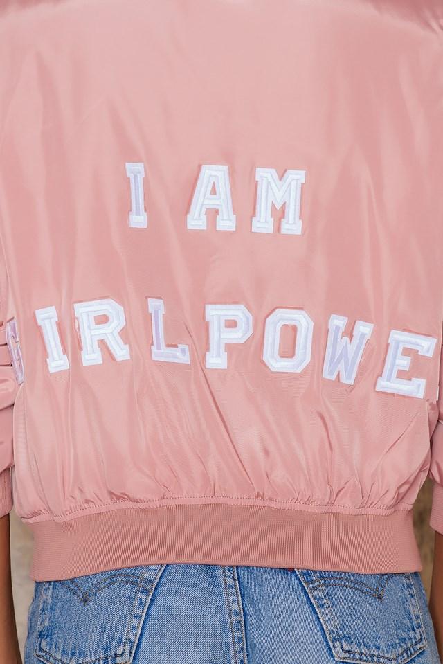 I Am Girlpower Pink