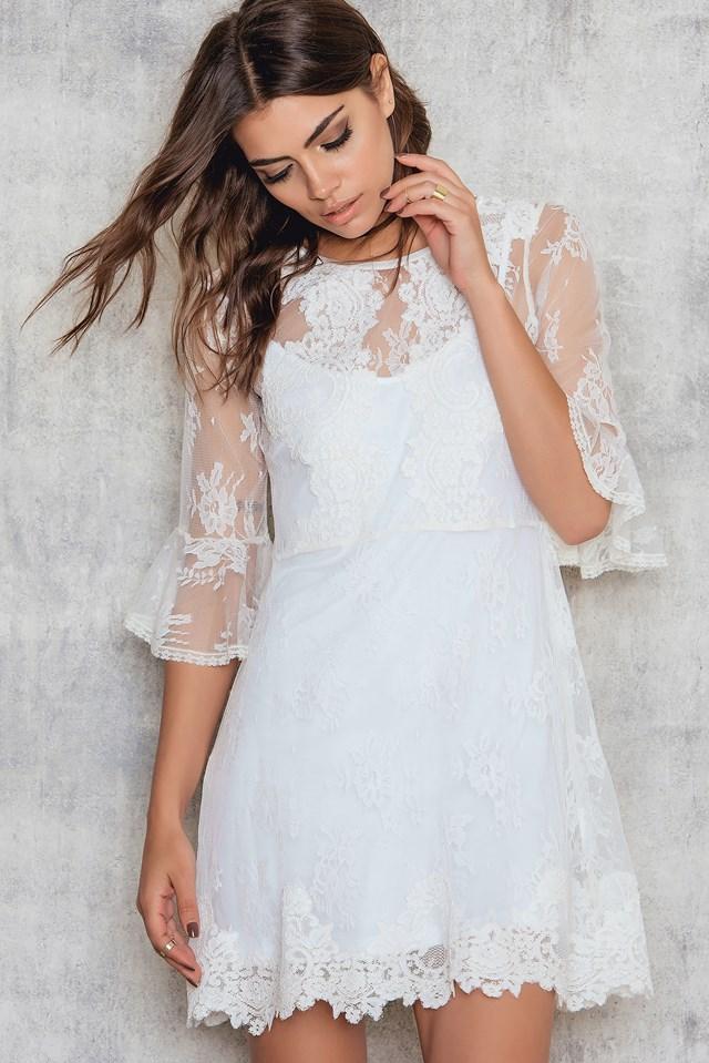Bridget Dress Ivory