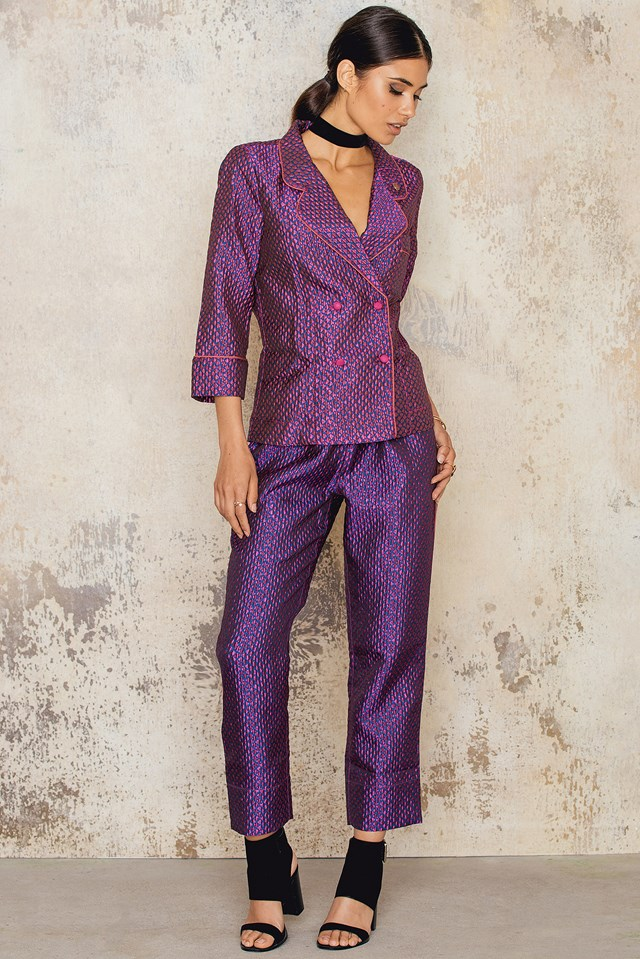 Donald T Pyjama Shirt Fuchsia