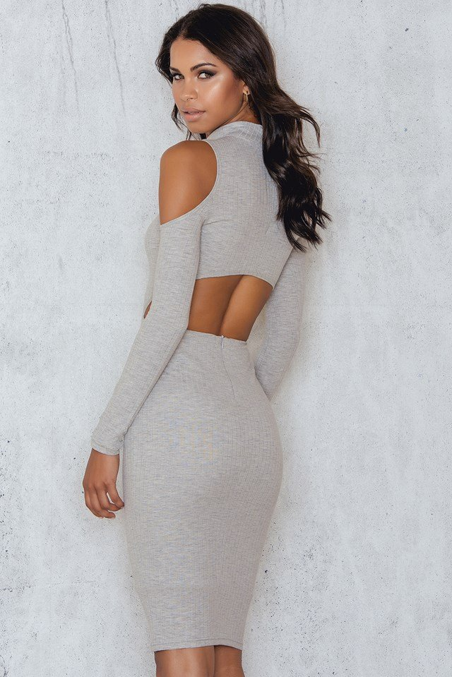 Bodycon Exclusive Dress Grey