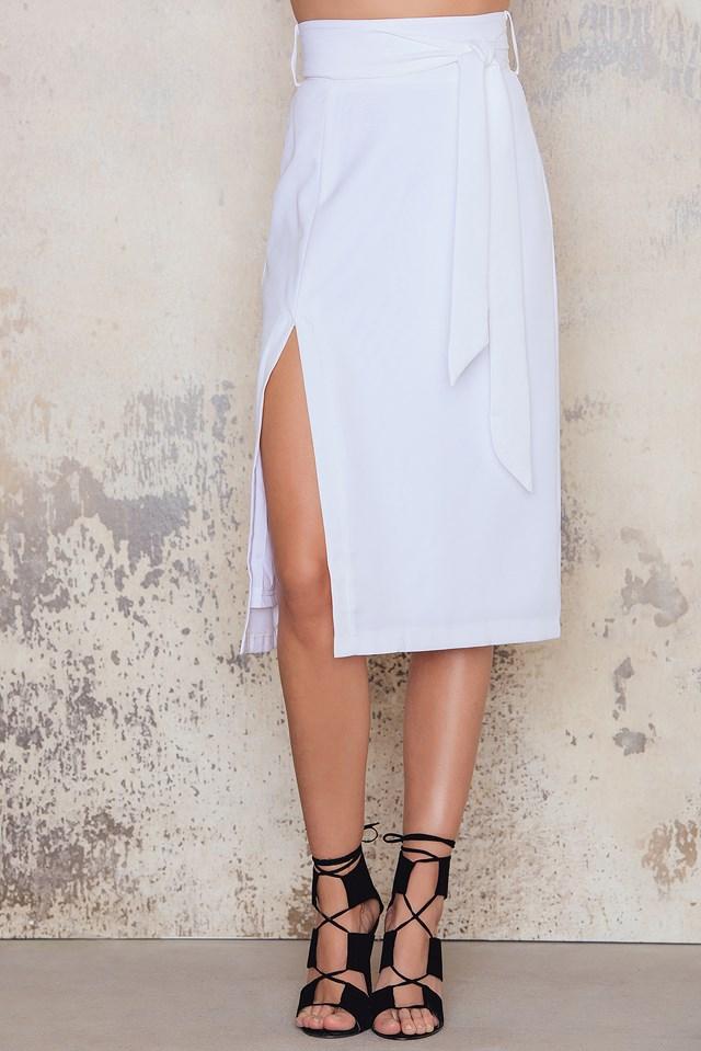 Sophia Skirt White