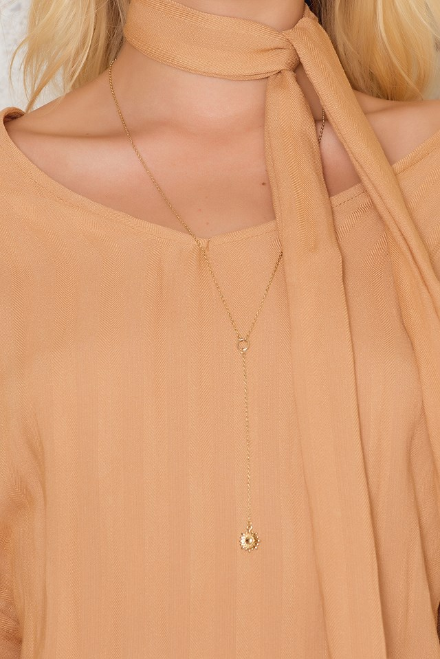 Sienna Bell Sleeve Dress Sand