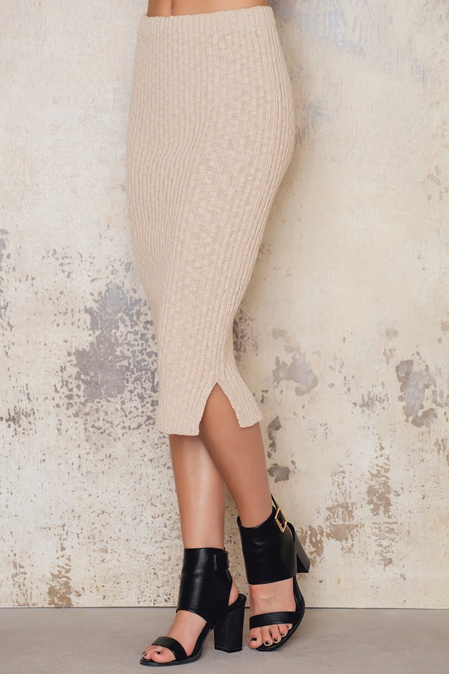 Daydream Skirt Oatmeal