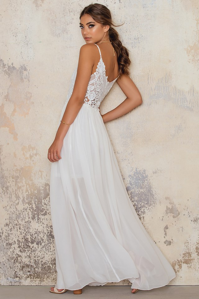 Azure Maxi Dress NA-KD.COM