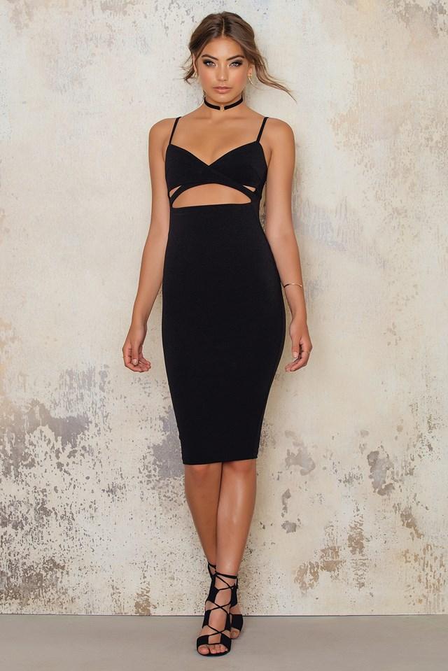 Heidi Bodycon Dress Black