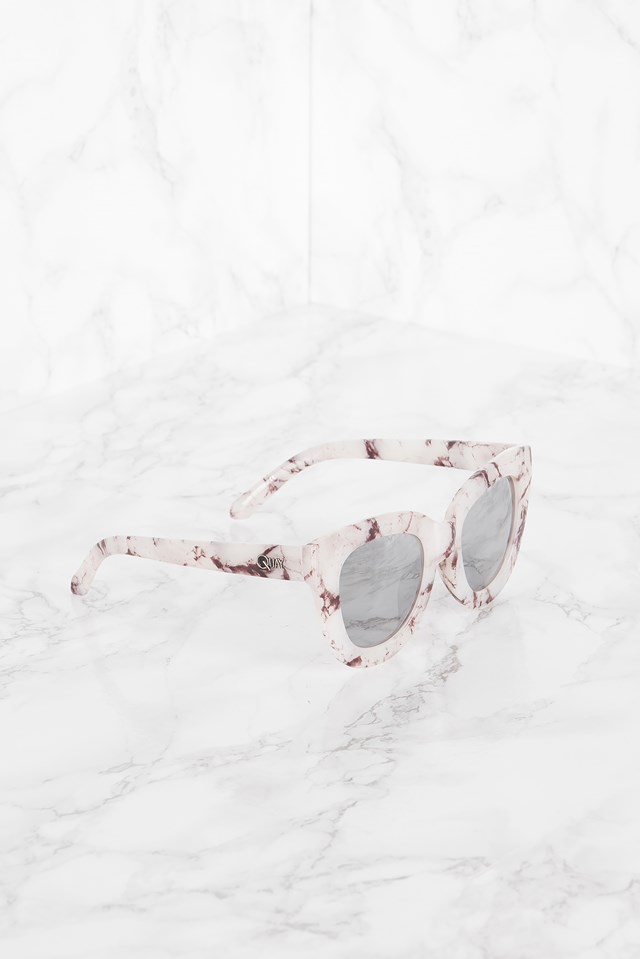 Sugar and Spice White Marble/Silver